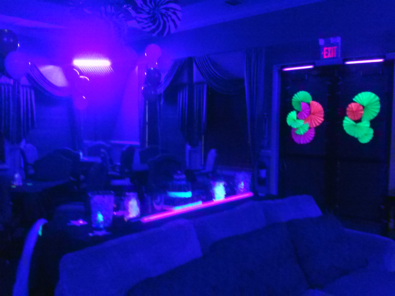 * UV Black Light Rental Miami and Broward